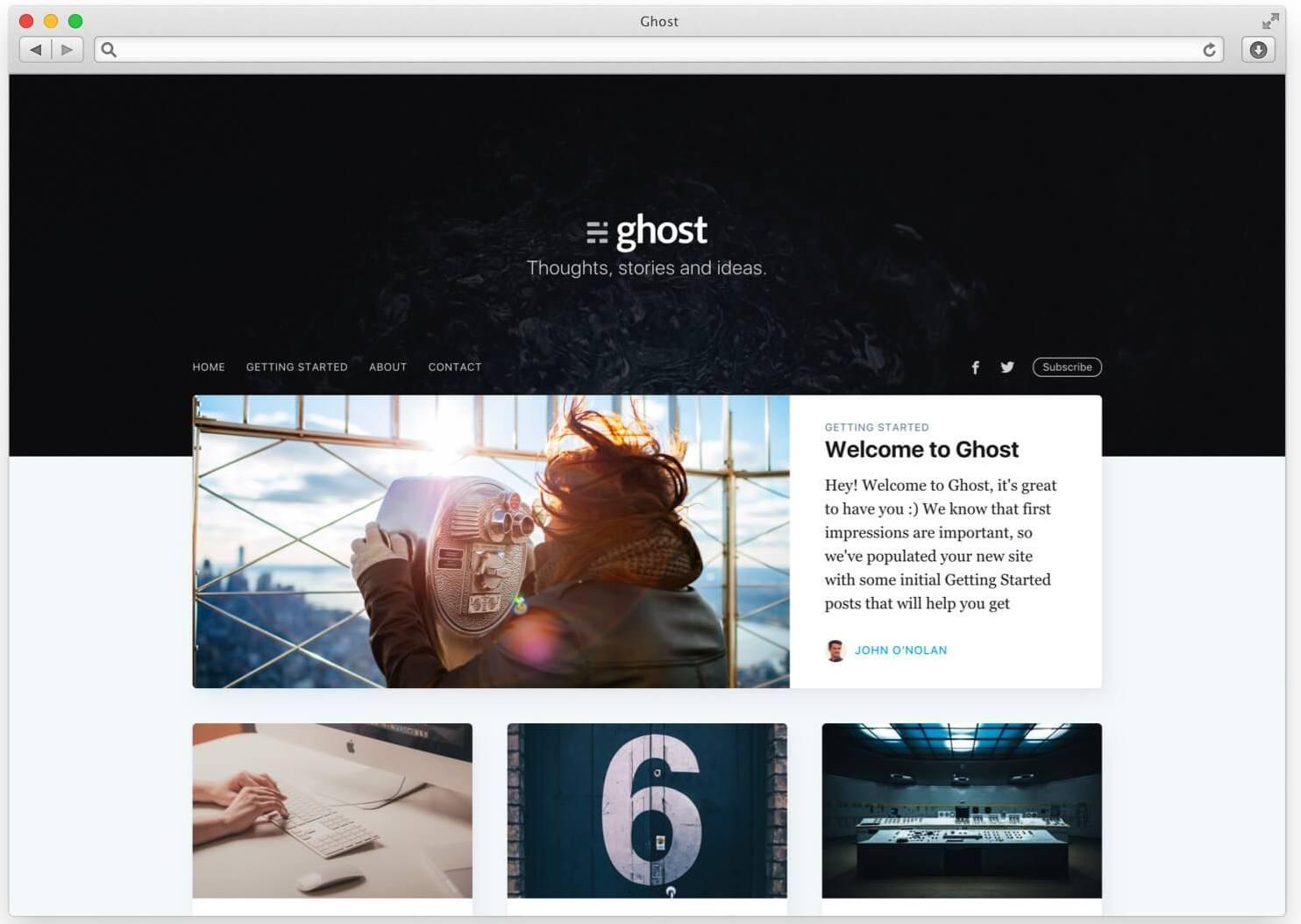 ghost-casper-theme